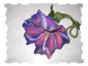 Fabulous felted flower