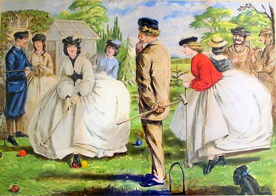 A Nice Game For Two Or More by John Leech 1861