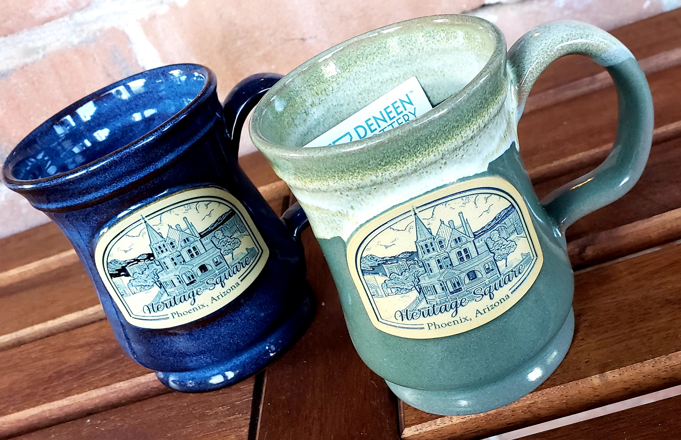 Heritage Square Heritage Square Mugs By Deneen Pottery